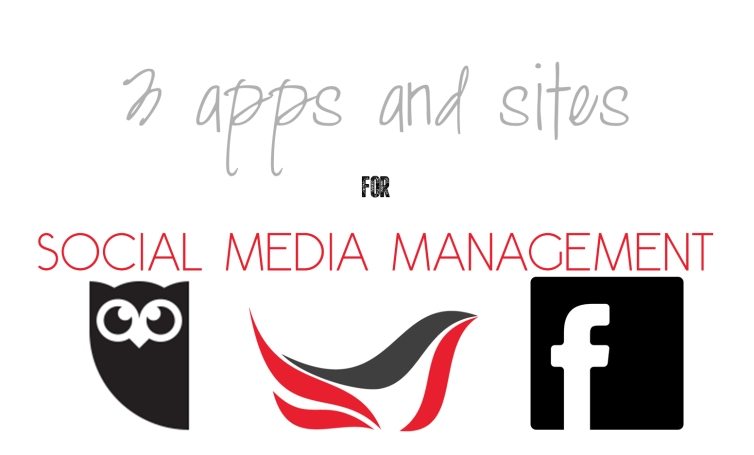 3 apps and sites for social media management